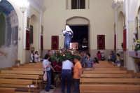 Catenanuova (EN), 22 maggio 2007 - Festa di Santa Rita da Cascia, la processione rientra in Chiesa Madre.  - Catenanuova (1690 clic)