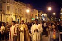 Catenanuova (EN), 22 maggio 2007 - Festa di Santa Rita da Cascia, la processione arriva in piazza Madonna del Rosario.  - Catenanuova (1740 clic)
