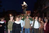 Catenanuova (EN), 22 maggio 2007 - Festa di Santa Rita da Cascia, la processione nella zona nord del paese, alcune devote indossano l'abito della Santa.  - Catenanuova (4893 clic)