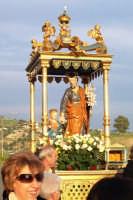 Catenanuova - festa di San Giuseppe 19 marzo 2007, la processione in via Centuripe per la benedizione dei campi  - Catenanuova (1713 clic)