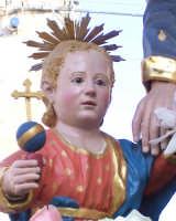 Catenanuova - festa di San Giuseppe 19 marzo 2007, particolare del Bambino Gesù  - Catenanuova (1750 clic)
