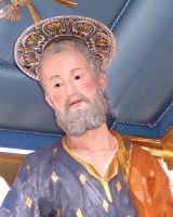 Catenanuova - festa di San Giuseppe 19 marzo 2007, particolare del volto del Santo  - Catenanuova (1638 clic)