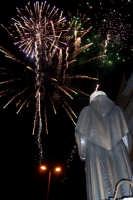 Catenanuova (EN), 13 giugno 2007 Festa di Sant'Antonio di Padova, i fuochi pirotecnici prima dell'entrata del Santo.  - Catenanuova (1645 clic)