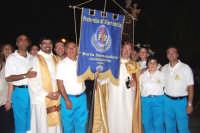 Catenanuova (EN), 13 giugno 2007 Festa di Sant'Antonio di Padova, il Parroco Don Natale Bellone con Don Giorgio Martin assieme ai volontari della Misericordia.  - Catenanuova (2455 clic)