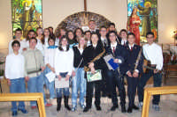 Catenanuova, 22.11.'05 festa di Santa Cecilia, il nuovo coro Gli Angeli del Collegio S. Chiara. (Foto concessa dal carissimo Nicolò Fiorenza)  - Catenanuova (6878 clic)