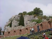 Teatro Greco Romano                                                                                    Foto peppino carollo.  - Taormina (5135 clic)