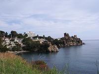 Contrada  Kaldura.   Zona turistica con spiaggia.                                     foto di peppino carollo.  - Cefalù (3956 clic)