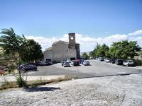 SS.Trinità Parrocchia a Petralia Soprana, vista dal retro.   Chiesa Madre per tutte le borgate sparse nel territorio  foto peppino carollo  - Petralia soprana (5631 clic)
