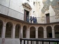 Cappella Portale imgresso alla cappella Foto peppino carollo   - Castelbuono (4670 clic)