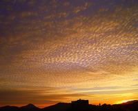 Alba   Alba su Castelbuono.   foto peppino carollo.  - Castelbuono (4298 clic)