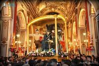 SS. CRISTO CON LA CROCE Venerdì Santo 2016, ingresso straordinario del simulacro del SS. Cristo con la Croce nella Basilica di Santa Maria Maggiore  - Ispica (1756 clic)