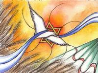 27 GENNAIO 1945 per non dimenticare disegno realizzato dall' artista Ispicese Valeria Giuga  in occasione del giorno della Memoria  - Ispica (6839 clic)