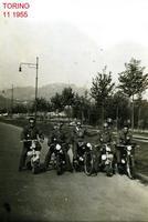 RADUNO  TORINO  1955      (Foto di Bruno Marino) RITORNO DAL RADUNO TENUTOSI A TORINO  1955  - Ragusa (3267 clic)