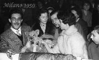 SERATA al CIRCO  1959  (Foto di Bruno Marino)  SERATA AL CIRCO  MILANO 1959  - Ragusa (3710 clic)