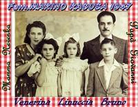 FAMIGLIA  MARINO   1947      (Foto di Bruno Marino) FAMIGLIA MARINO A RAGUSA NEL 1947  - Ragusa (3549 clic)