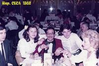 CESKE BUDEOVICE  1982  (Foto di Bruno Marino)  CON DENISE MORENO e JANINKA IN OCCASIONE DI UNA   IMPORTANTE CERIMONIA.   CESKE BUDEOVICE  (REP CECA) 1982  - Ragusa (3701 clic)
