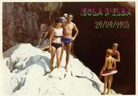 ISOLA  D'ELBA  1964        (Foto di Bruno Marino)  CON MADDALENA ALL'ISOLA D'ELBA.BELLI RICORDI DI  GIOVENTU' FATTA DI AMORE E SEMPLICITA'.  ISOLA D'ELBA  SETT. 1964  - Ragusa (3052 clic)
