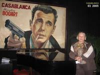 CASABLANCA  2005    (Foto di Bruuno Marino)  QUESTO E' IL BAR DOVE FU' GIRATO IL FAMOSO FILM  CASABLANCA INDIMENTICABILE!!    CASABLANCA MAROCCO 2005  - Ragusa (4318 clic)