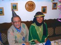 UNA DELLE TANTE DEL MIO HAREM.(Mia cara nipote)  AUSTRIA CARNEVALE FEB. 2004   - Ragusa (3258 clic)