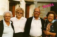 FAMILIARI   1988    (Foto di Bruno Marino)  NEVENKA-MIRKA-G.MARINO-DESANKA          SESANA (YU) 1988  - Ragusa (3046 clic)