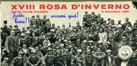 RADUNO  MILANO 1961    (Foto di Bruno Marino) RADUNO MOTOCICLISTICO  XVIII ROSA D'INVERNO 1961 CARATTERISTICA DEL RADUNO IN QUEL DI MILANO: 60% POLENTONI  40% TERRONI (IO FRA' QUESTI)    MILANO 8 DICEMBRE 1961  (Freddo Boia!!)  - Ragusa (3651 clic)