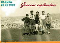 GIOVANI  ESPLORATORI     (Foto di Bruno Marino)  GIOVANI ESPLORATORI D'UNA...VOLTA   - Ragusa (3405 clic)