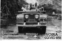 VOIKA  CONGO 1958      (Foto di Bruno Marino) MIA CUGINA VOIKA UNA BELLA e DOLCE FIGLIOLA IN CONGO UCCISA CON IL MACHETE DA UNA ORDA DI NERI INCIVILI E BARBARI.  CONGO(AFRICA) 1958  - Ragusa (3214 clic)
