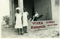 VOIKA  CONGO  1958       (Foto di Bruno Marino) ULTIMA FOTO DI MIA CUGINA VOIKA.UN MESE DOPO E'  STATA BARBARAMENTE UCCISA DA NEGRI IMPAZZITI.   KAMPALA CONGO 1958  - Ragusa (3387 clic)