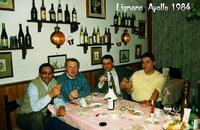 COMBRICCOLA  1984     (Foto di Bruno Marino)  LA COMBRICCOLA E' FORMATA DA': UN ITALIANO MEZZO SICUL