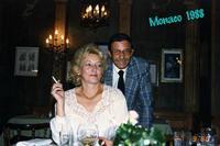 MONACO  1988                 (Foto di Bruno Marino)  CON JANJNKA A MONACO DI BAVIERA INVITATI DALLA BIRRERIA SPATEN IN OCCASIONE DEL OKTOBER FEST   MONACO OTTOBRE 1988  - Ragusa (3048 clic)