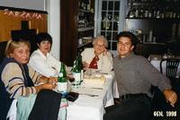 SARZANA  1998     (Foto di Bruno Marino)  VISITA A MORENO CON PRANZO OFFERTO DA PAPI E  PAGATO DALLA NONNA.  QUANTA NOSTALGIA!!!     SAEZANA (SP) GEN 1998    - Ragusa (3209 clic)