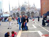 VENEZIA  2005        (Foto di Bruno Marino)  I MIEI CARI NELLA MITICA VENEZIA.    VENEZIA 03/2005  - Ragusa (3173 clic)