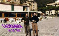 TAORMINA  1991       (Foto di Bruno Marino)  RITORNO FUGACE NELLA DOLCE TERRA D'ORIGINE         TAO