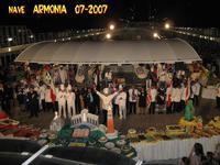 CROCIERA  2007      (Foto di Bruno Marino)  FESTA DI COLORI DI SAPORI E DI....PALATO!!   RAGAZZI CHE ABBUFFATE!!  SCONSIGLIATA.... A CHI VUOLE TENERE LA LINEA   NAVE ARMONIA 07/2007  - Ragusa (2787 clic)