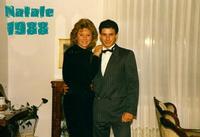 DUEBELLIBIMBI  1988    (Foto di Bruno Marino)   GABY e MORENO   AUSTRIA NATALE 1988 RAGUSA bruno m