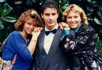 BELLE CREATURE  1987    (Foto di Bruno Marino) MERAVIGLIOSO DONO DEL CREATO. WIENNA 1987 DA'sinistra- DENISE MORENO GABY  - Ragusa (3373 clic)