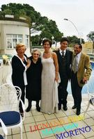 OGGI SPOSI  2000      (Foto di Bruno Marino)  MORENO e FEDERICA HANNO CORONATO IL LORO SOGNO  04/2