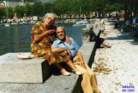 I  MIEI   GENITORI    1987       (Foto di Bruno Marino)  I MIEI GENITORI  GIOVANNI E NEVENKA MARINO IN ISTRIA.  ABAZIA 1987  - Ragusa (3135 clic)
