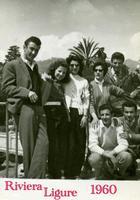 GITA  in  RIVIERA   1960        (Foto di Bruno Marino) GITA IN QUEL DI FINALE LIGURE 1960  - Ragusa (3042 clic)