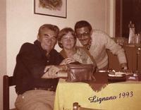 JULIUS  1993        (Foto di Bruno Marino)  IL MIO CARO AMICO JULIUS CON OLINKA DI BUDAPEST  QUESTA E' STATA L'ULTIMA SUA VISITA IN ITALIA.   1993     - Ragusa (2954 clic)