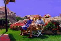 SARDEGNA  1985        (Foto di Bruno Marino)  MIO PADRE e MIA MAMMA IN VACANZA IN SARDEGNA.   BAJA SARDINIA 1985  - Ragusa (3323 clic)