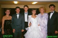 SPOSI  1997       (Foto di Bruno Marino)  OGGI DENISE SI E' MARITATA. VIVA GLI SPOSI!!!  MI RACCOMANDA FATE COME SI FACEVA ANNI ADDIETRO.  DATEVI DA FARE E COME MINIMO DEVONO ESSERE 4 COSA AVETE CAPITO! INTENDEVO 4 MARMOCCHI !!!  KREMS AUSTRIA 1997  - Ragusa (3333 clic)