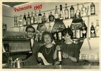 HOTEL VALMONTE 1965     (Foto di Bruno Marino) BRUNO NEVENKA MADDALENA gestori HOTEL VALMONTE IN CINISELLO B. (MI) ANNO 1965.  - Ragusa (4347 clic)