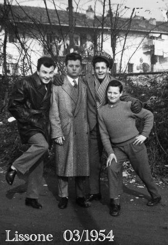IMMIGRATI AL NORD 1954 (Foto di Bruno Marino) - RAGUSA - inserita il 11-Mar-11