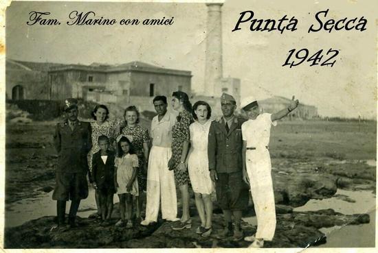PUNTA  SECCA  1942     (Foto di Bruno Marino)   - PUNTA SECCA - inserita il 03-Mar-11