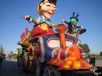 carro Pinocchio da notare la volontà delle persone del posto  - Petrosino (6267 clic)