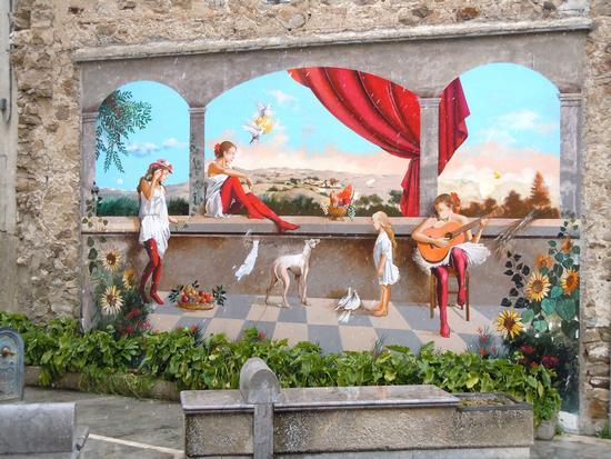 Murales a Castellana Sicula - CASTELLANA SICULA - inserita il 15-Mar-11