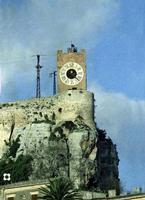 l'orologio del Castello negli anni  '60   - Modica (5802 clic)
