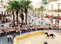 la Giostra dei Chiaramonte, estate 97  MODICA Enzo Belluardo