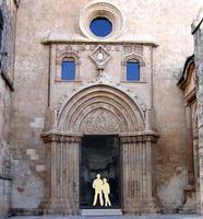 Santa Maria del Gesù Il portale  MODICA Enzo Belluardo